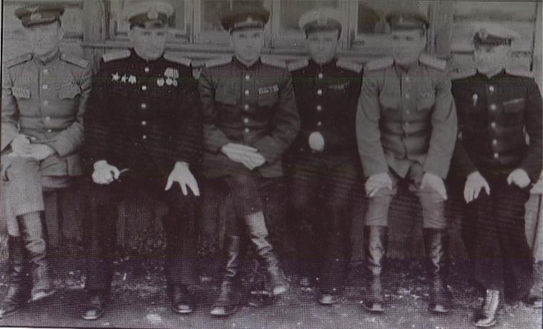 Зонов М.П. и Комолов Н.В с командованием Камчатского полка