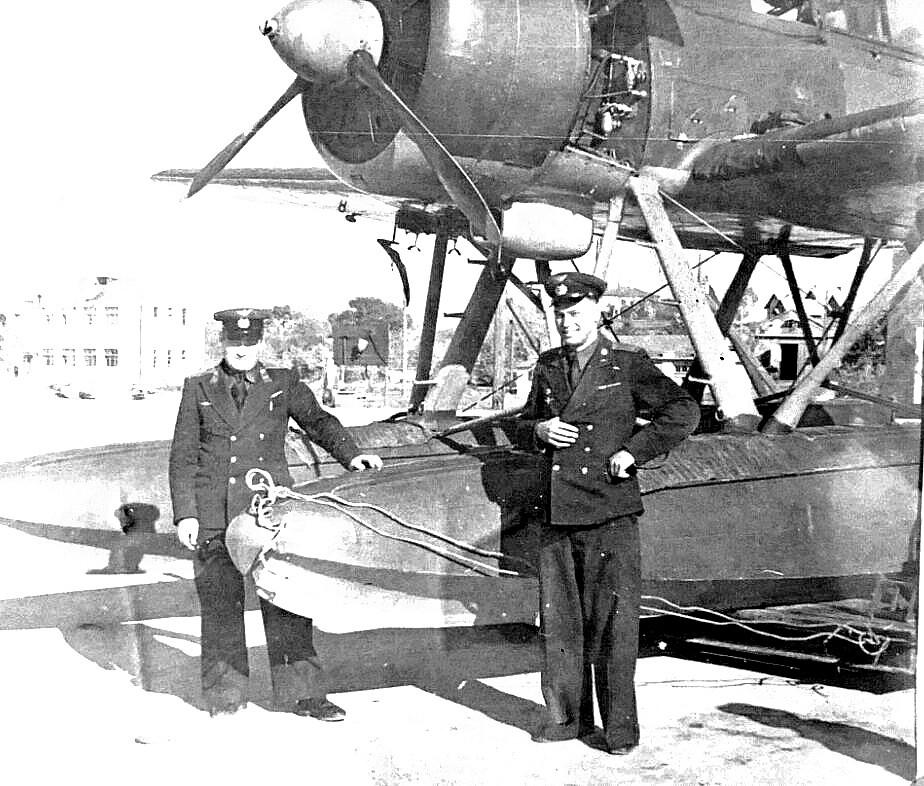 Арадо 196 в Одессе. 1947.