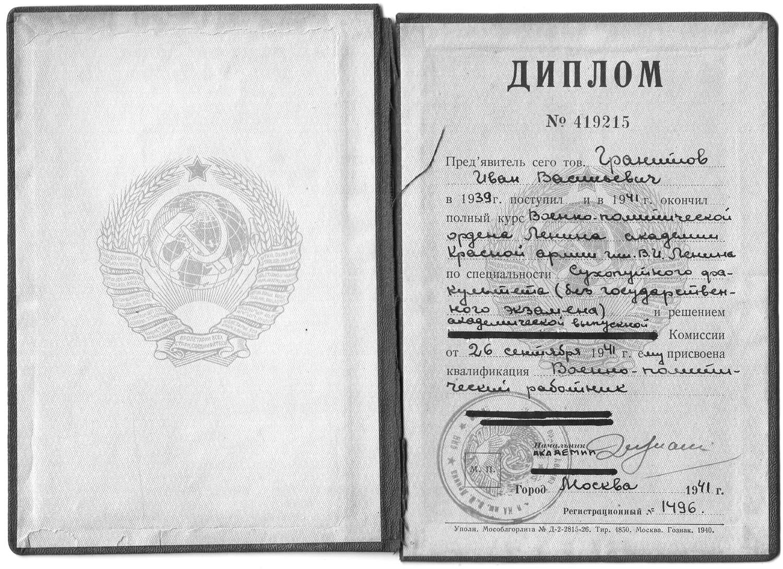 Диплом Гранитова И.В.